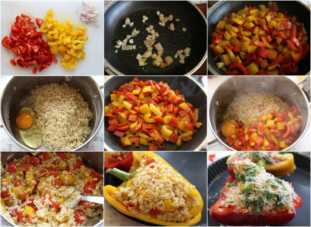 Come prearare i peperoni ripieni