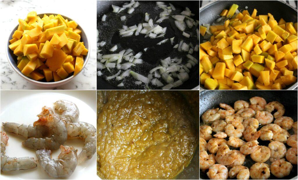 Ricetta riso venere con gamberetti