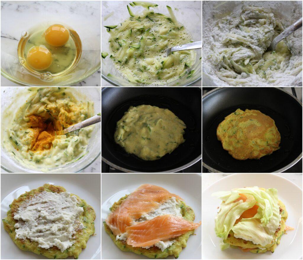 Come preparare pancake salati