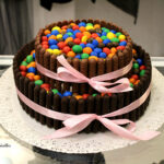 Torta Nutella e m&m's