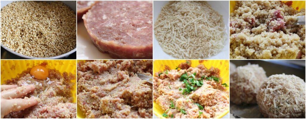 Come fare le polpette di quinoa