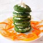 Pancake verdi di spinaci