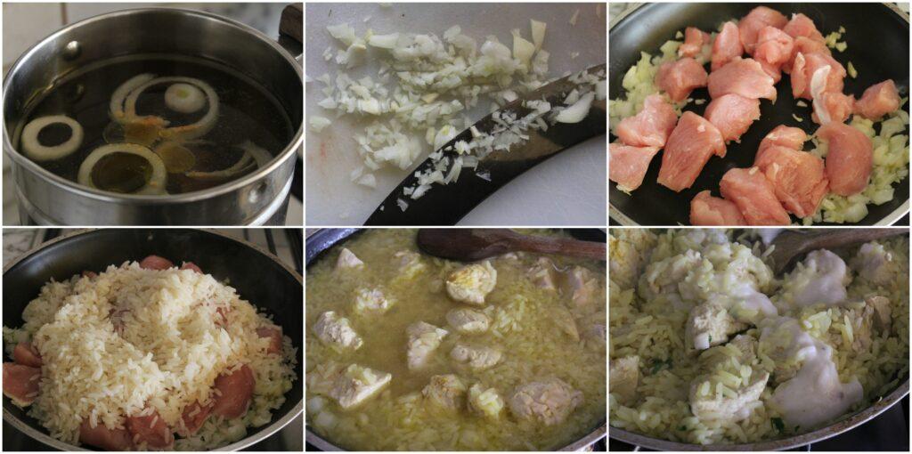 Come fare un risotto con tacchino