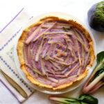 Torta viola di Bietola e Cavolo