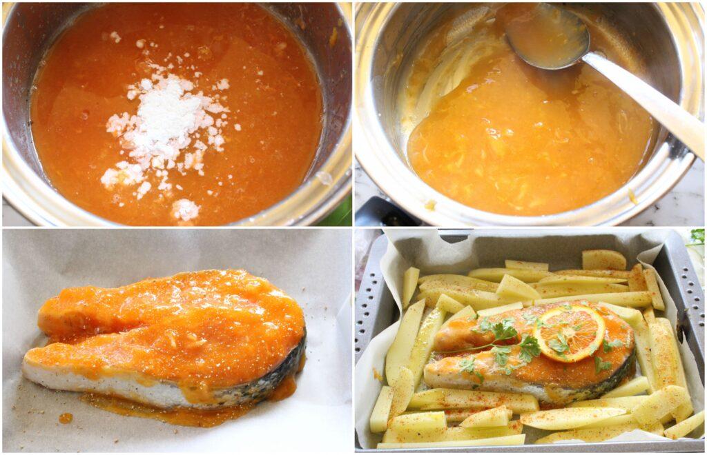 Come fare il salmone all'arancia