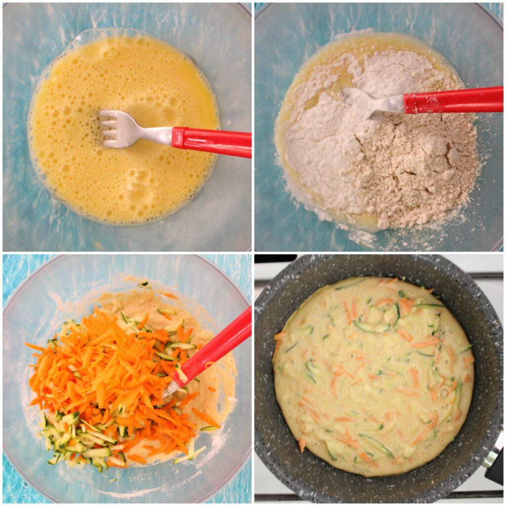 Come fare un pancake alto salato