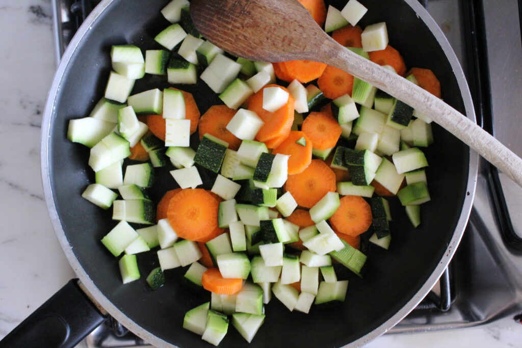 Riso al curry con verdure