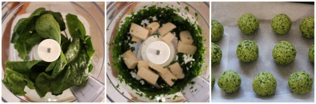 Come fare de polpette di spinaci