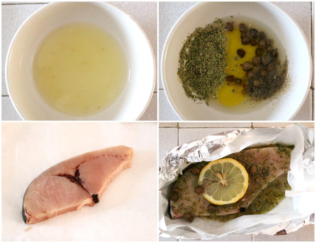Come fare il pesce spada al forno