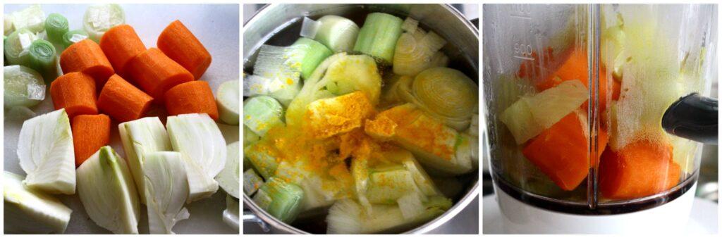 Come fare una vellutata di verdure