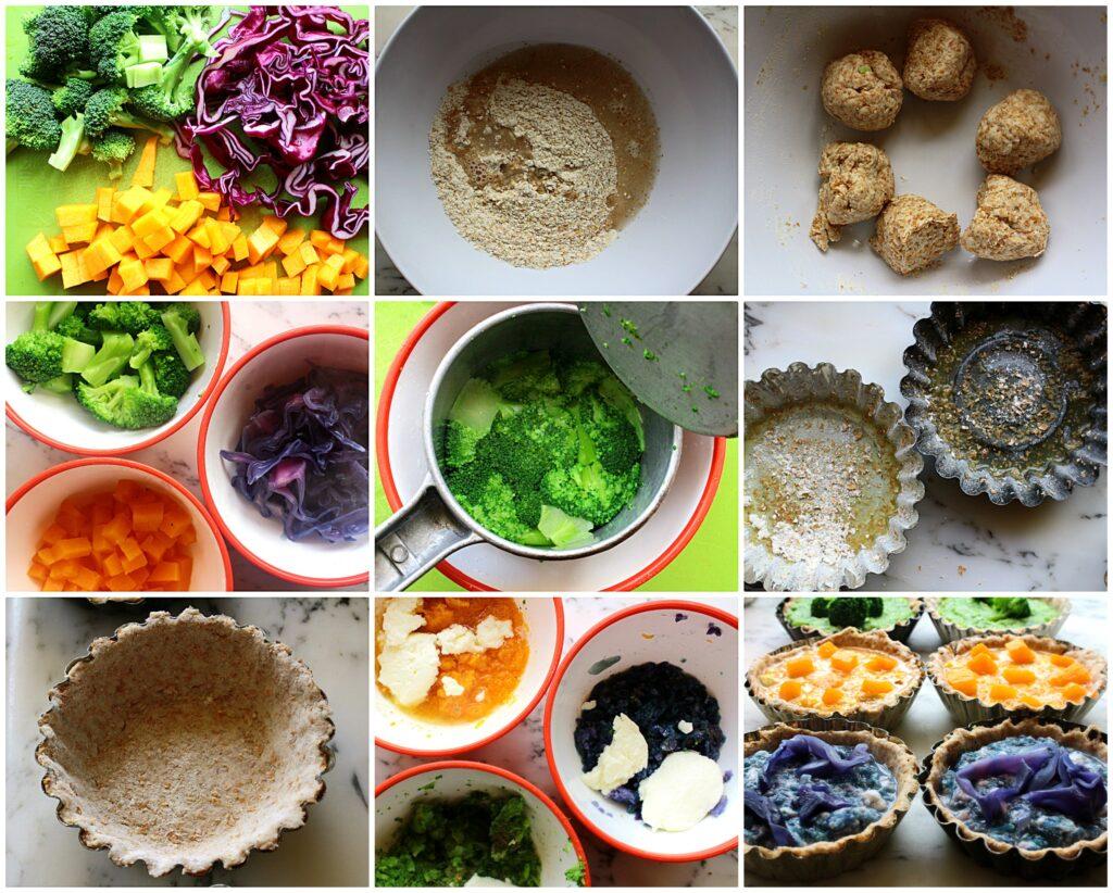 Come fare delle crostatine salate