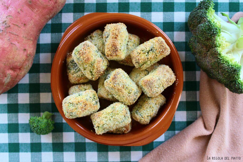Crocchette di Broccoli e Patate Dolci