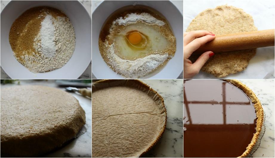 Come fare una crostata al cioccolato