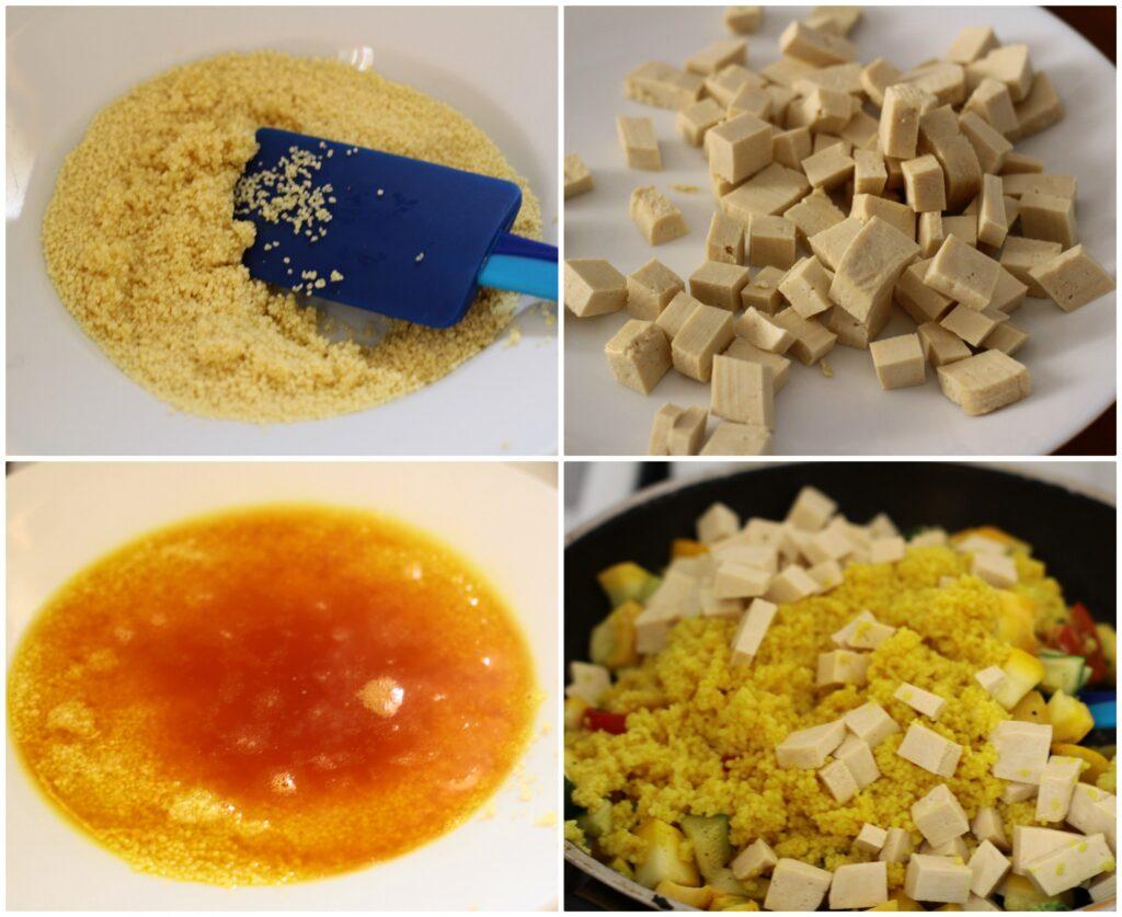 Come fare il cous cous con il tofu