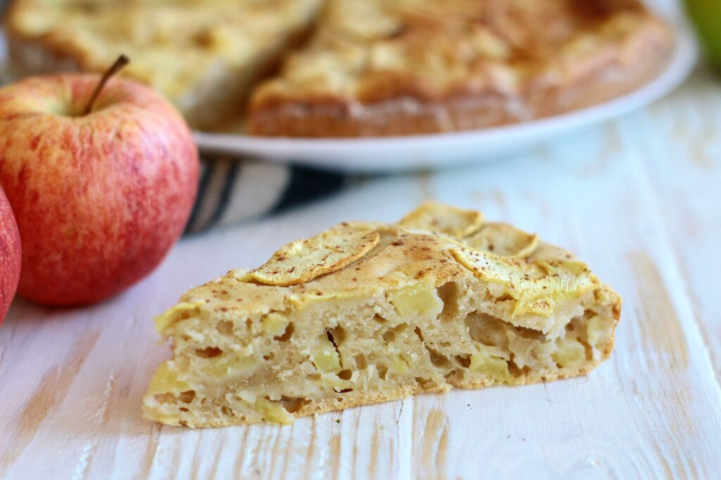 Torta di mele con ricotta